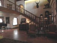 Lobby of Enzian Inn in Leavenworth, Washington